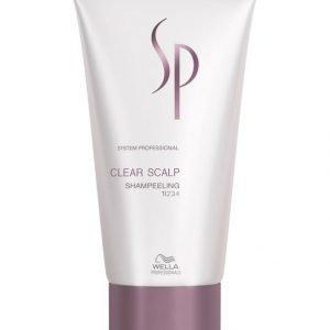 Wella System Professional Clear Scalp Shampeeling Shampoo 150 ml