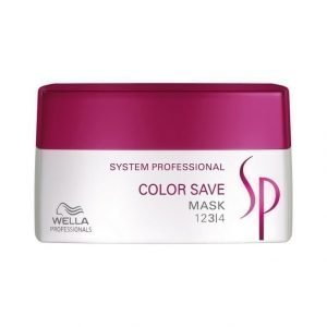 Wella System Professional Color Save Mask Tehohoito 200 ml