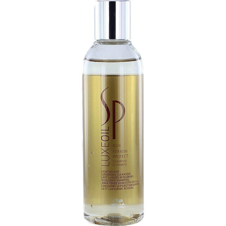 Wella System Professional Luxeoil Keratin Protect Shampoo 1 200ml