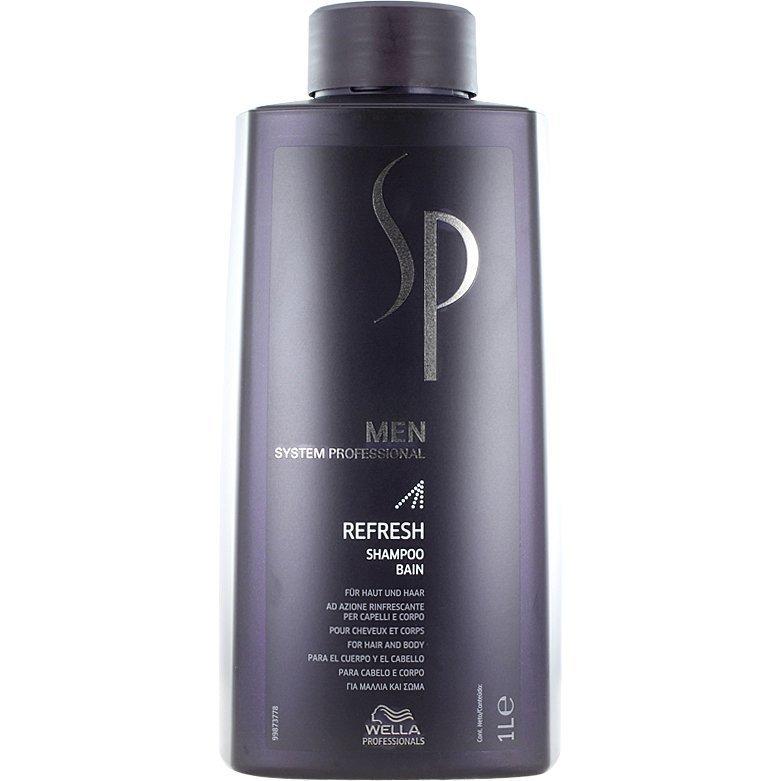 Wella System Professional Men Refreshing Shampoo 1000ml