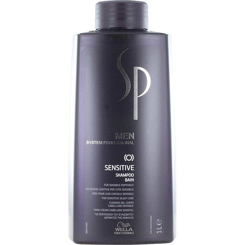 Wella System Professional Men Sensitive Shampoo 1000ml