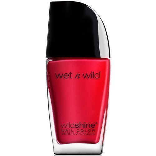 Wet n Wild Shine Nail Color Red Red