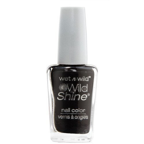 Wet n Wild Shine Nail Colour Black Créme