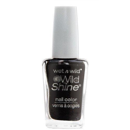 Wet n Wild Shine Nail Colour Black Créme
