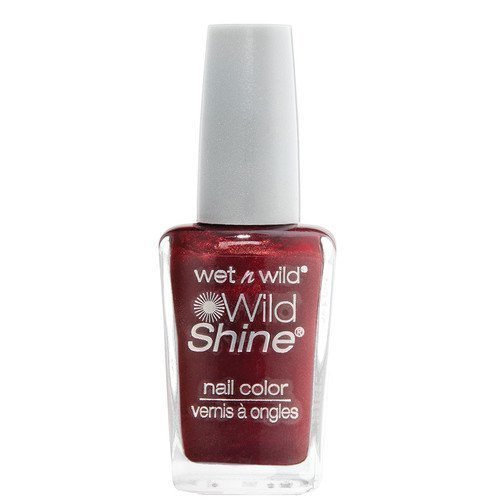 Wet n Wild Shine Nail Colour Burgundy Frost