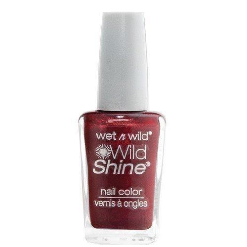 Wet n Wild Shine Nail Colour Burgundy Frost