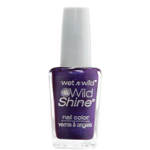 Wet n Wild Shine Nail Colour Eggplant Frost