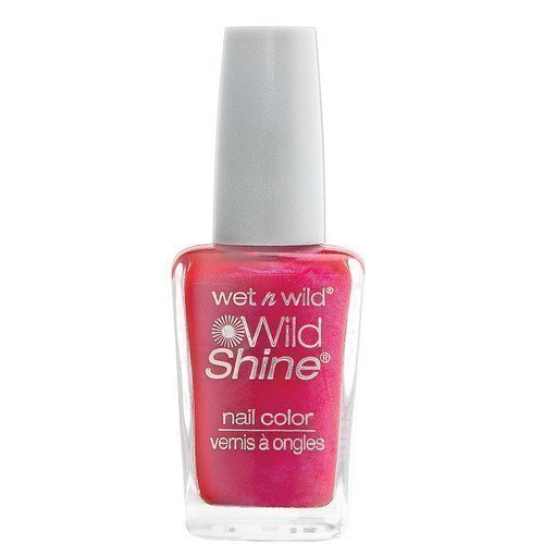 Wet n Wild Shine Nail Colour Frosted Fuchsia