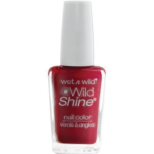 Wet n Wild Shine Nail Colour Red Red