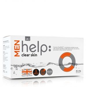 Works With Water Men's Help: Clear Skin Soluble Supplement 28 X 3.5 G