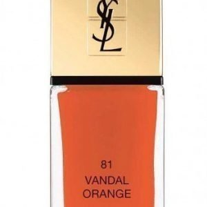 YSL La Laque Couture 81 Vandal Orange