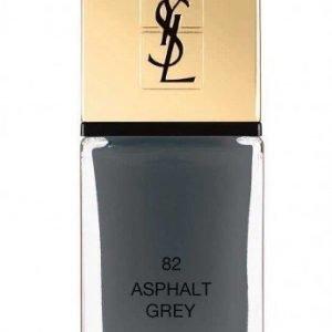 YSL La Laque Couture 82 Asphalt Grey