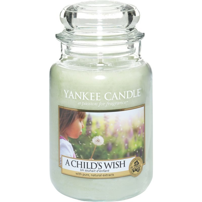Yankee Candle A Child's Wish Large Jar 623g