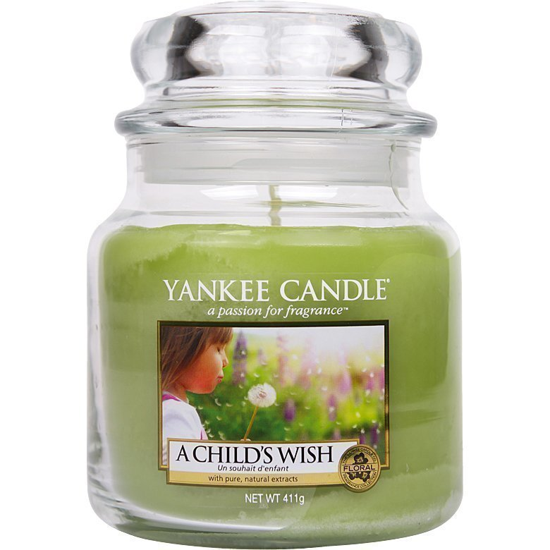 Yankee Candle A Child's Wish Medium Jar 411g