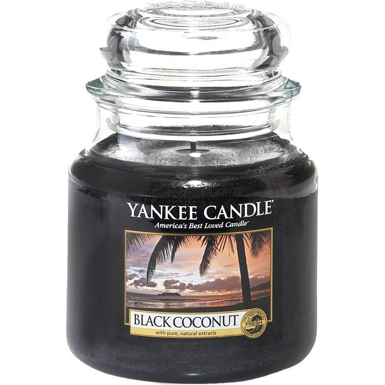 Yankee Candle Black Coconut Medium Jar 411g