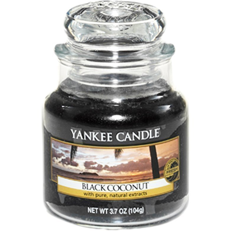 Yankee Candle Black Coconut Small Jar 104g