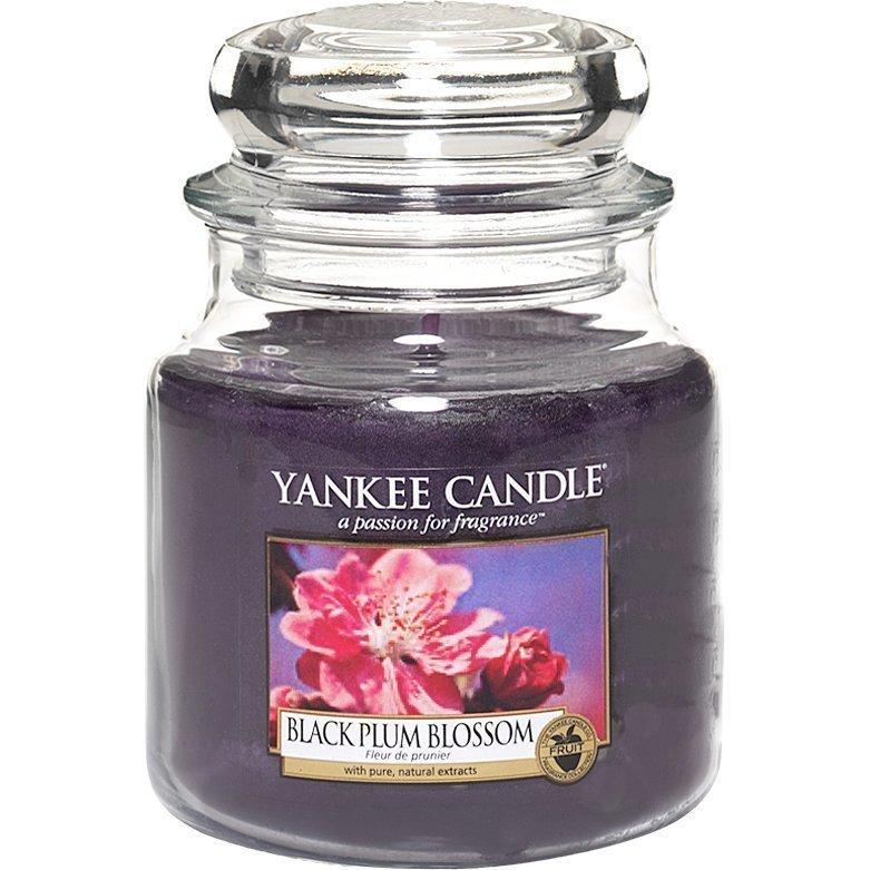 Yankee Candle Black Plum Blossom Medium Jar 411g