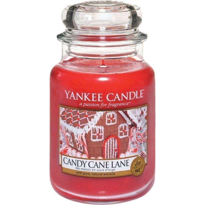 Yankee Candle Candy Cane Lane Large Jar 623g