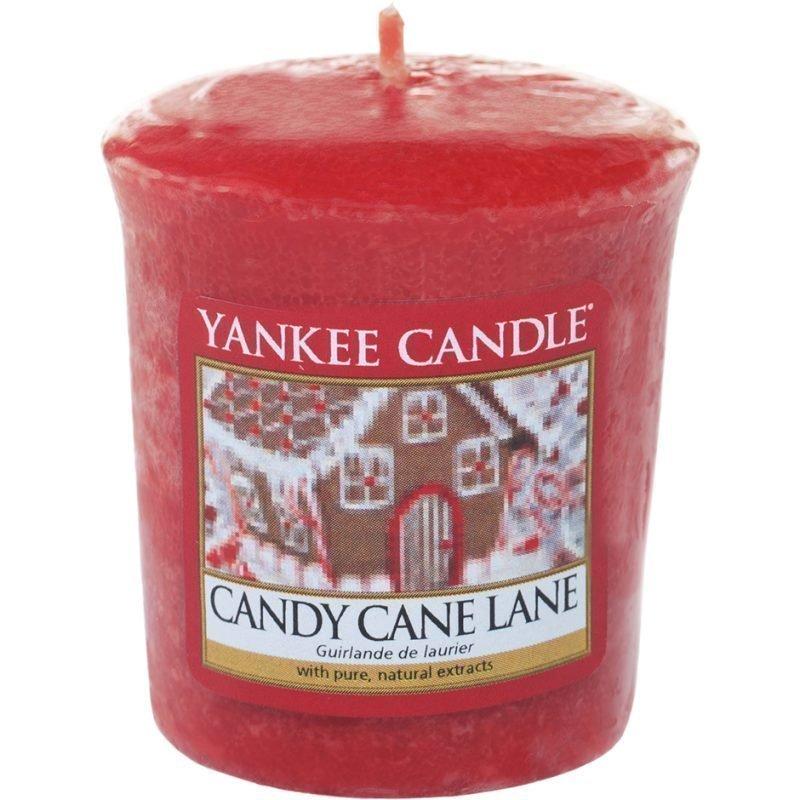 Yankee Candle Candy Cane Lane Votives 49g