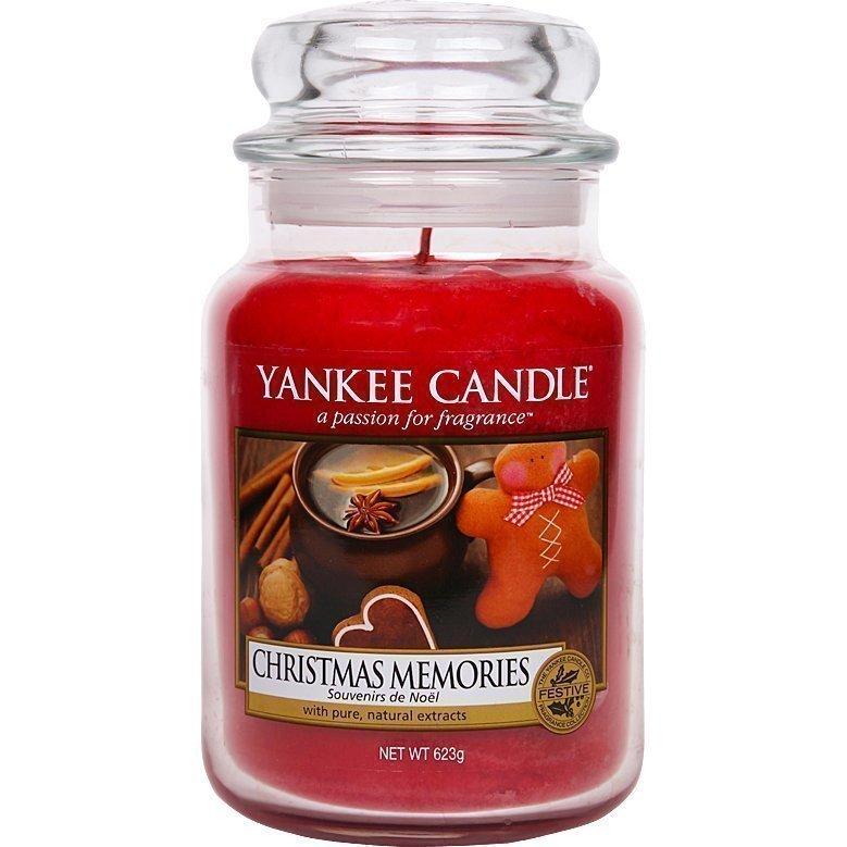 Yankee Candle Christmas Memories Large Jar 623g