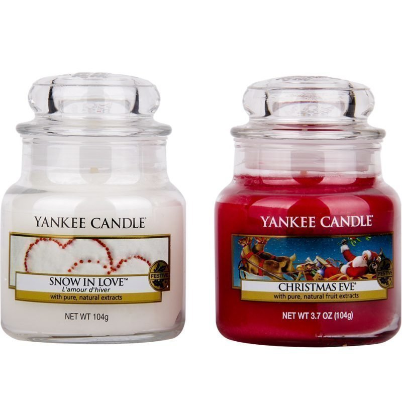 Yankee Candle Classic 2 Small Jars