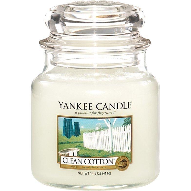 Yankee Candle Clean Cotton Medium Jar 411g