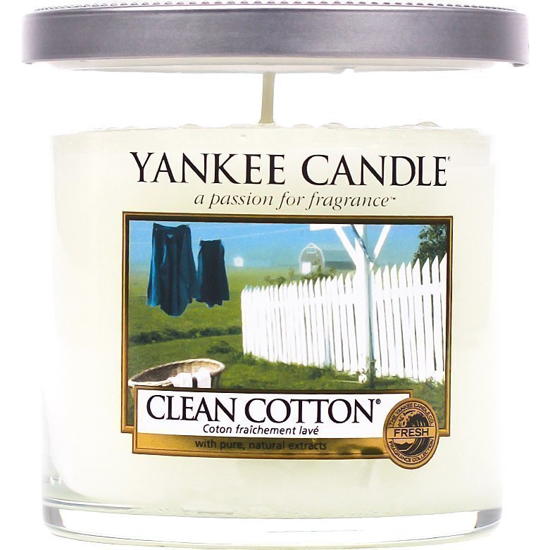 Yankee Candle Clean Cotton  Tumbler 198g