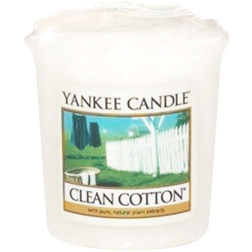 Yankee Candle Clean Cotton Votives 49g