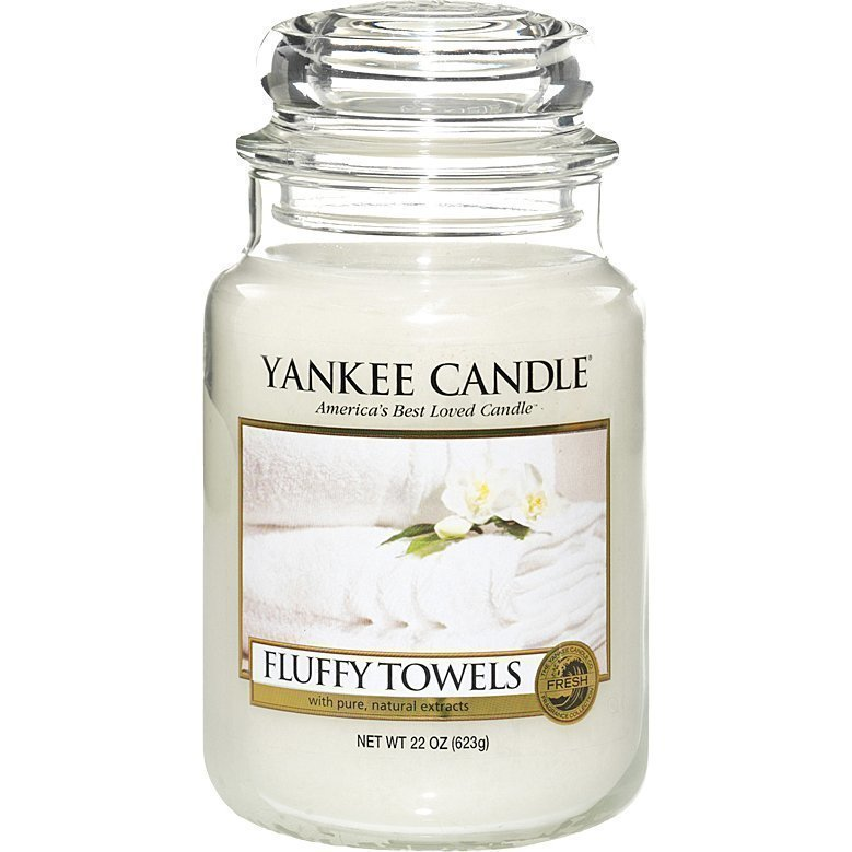 Yankee Candle Fluffy Towels Large Jar 623g