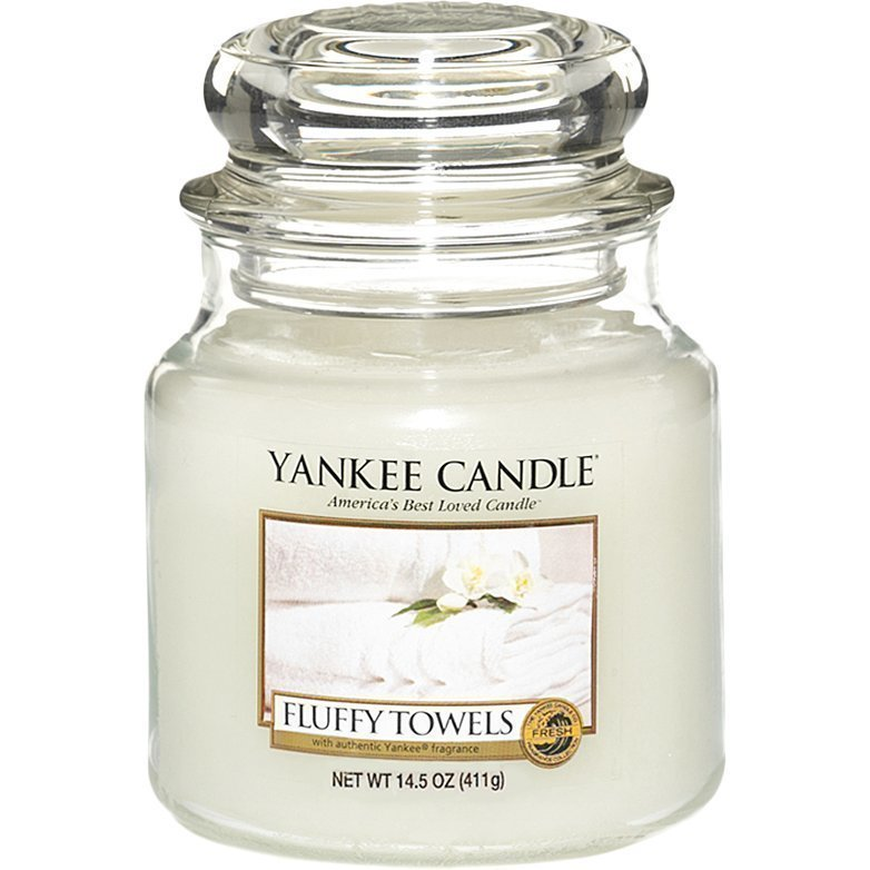 Yankee Candle Fluffy Towels Medium Jar 411g