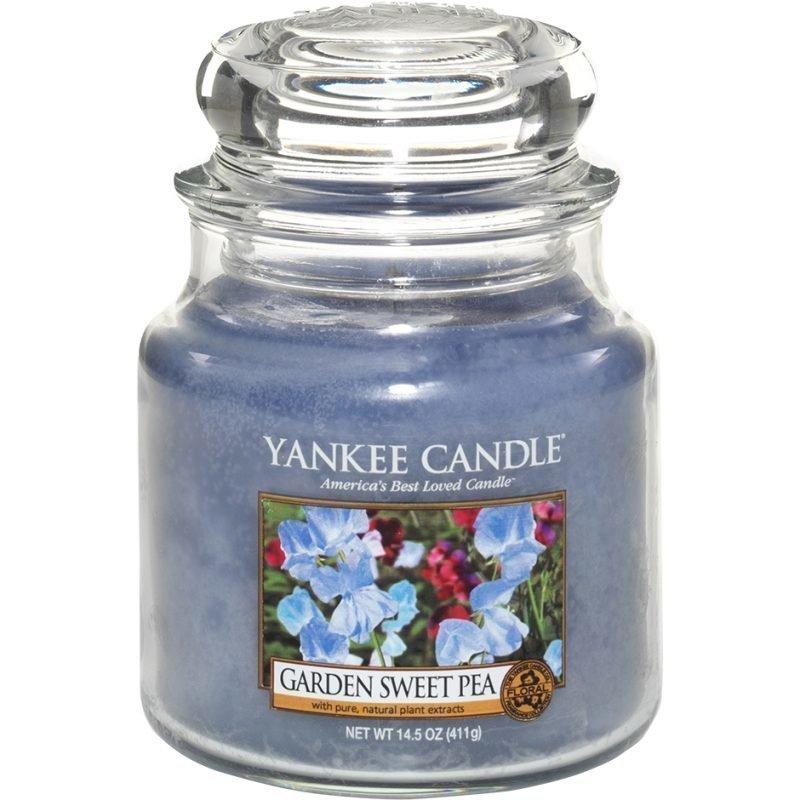 Yankee Candle Garden Sweet Pea Medium Jar 411g