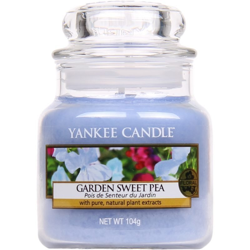 Yankee Candle Garden Sweet Pea Small Jar 104g