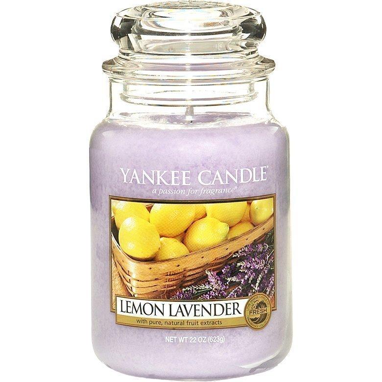 Yankee Candle Lemon/Lavender Large Jar 623g