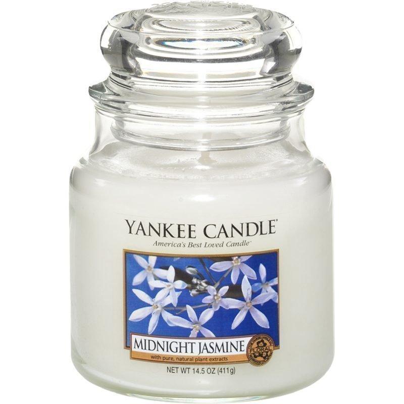 Yankee Candle Midnight Jasmine Medium Jar 411g