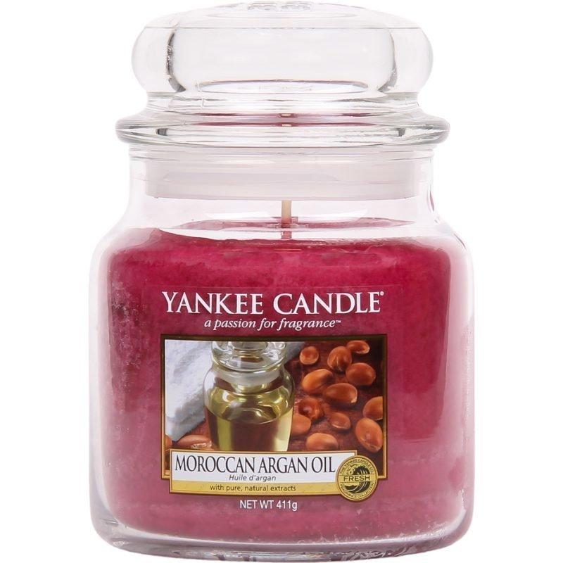 Yankee Candle Moroccan Argan Oil Medium Jar 411g