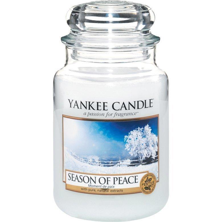 Yankee Candle Season Of Peace Large Jar 623g