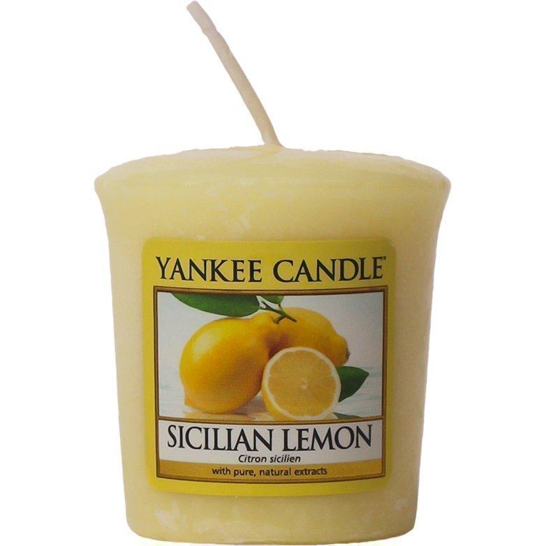 Yankee Candle Sicilian Lemon Votives 49g