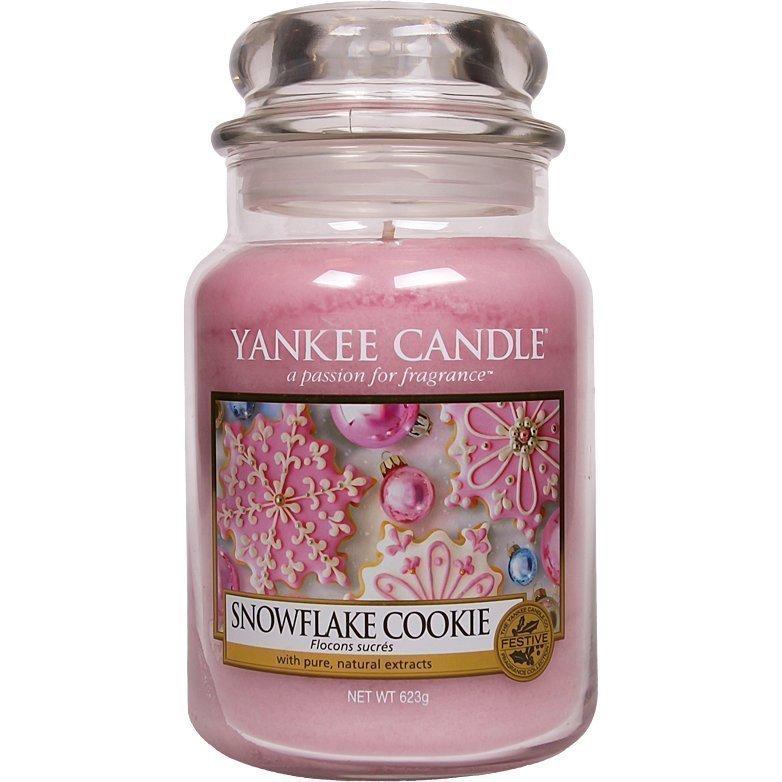Yankee Candle Snowflake Cookie Large Jar 623g
