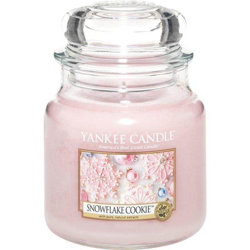 Yankee Candle Snowflake Cookie Medium Jar 411g
