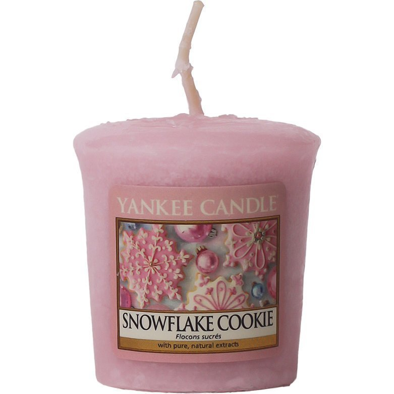 Yankee Candle Snowflake Cookie Votives 49g