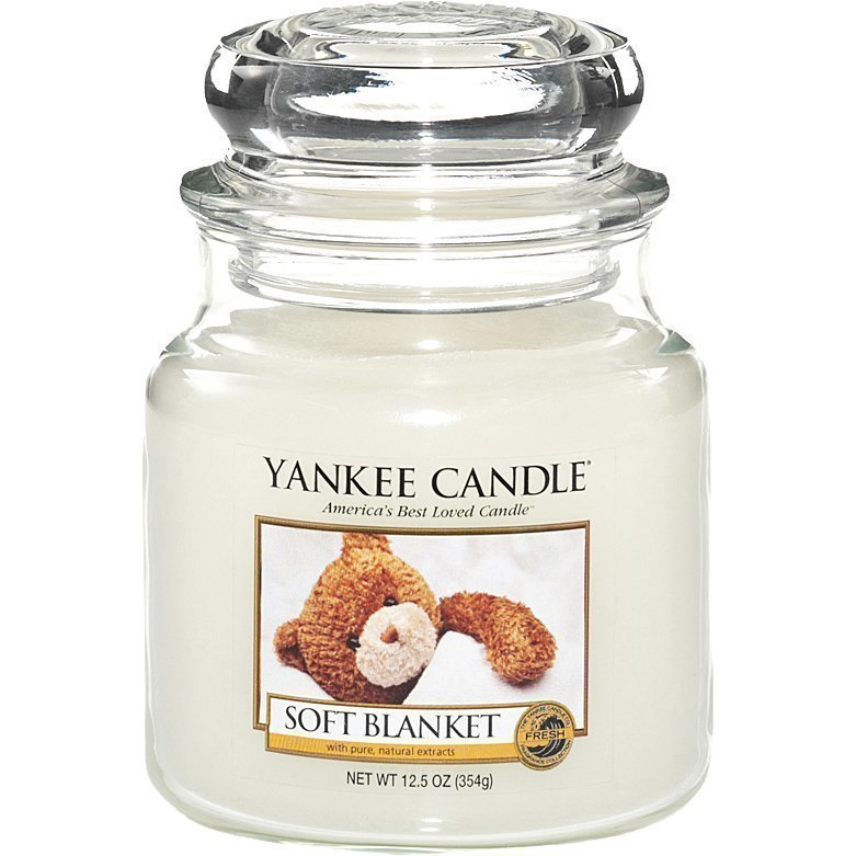 Yankee Candle Soft Blanket Medium Jar 411g