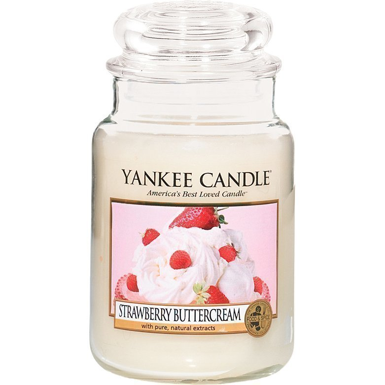 Yankee Candle Strawberry Buttercream Large Jar 623g