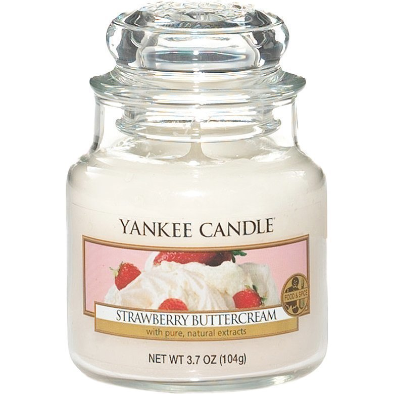 Yankee Candle Strawberry Buttercream Small Jar 104g