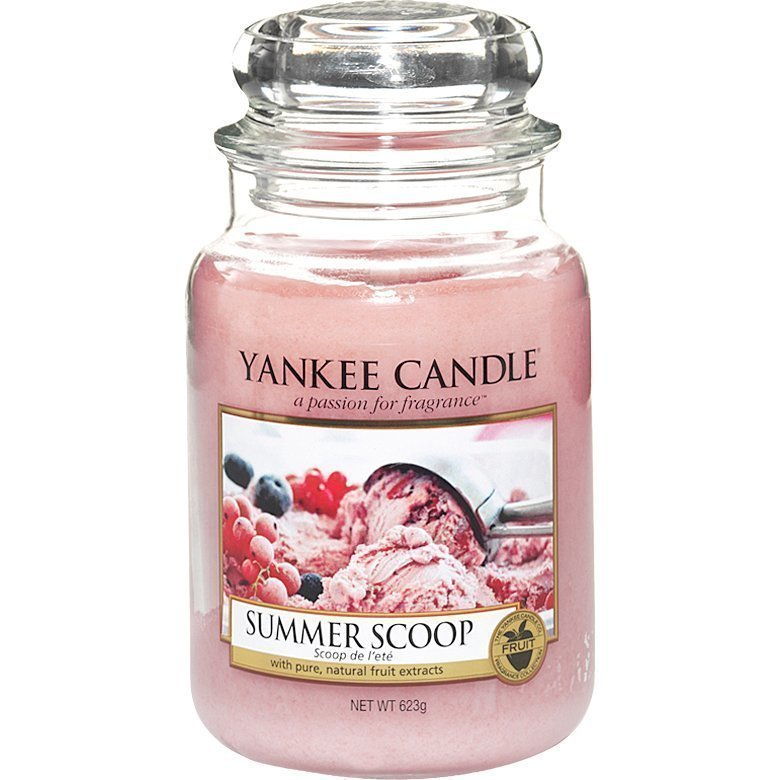 Yankee Candle Summer Scoop Large Jar 623g