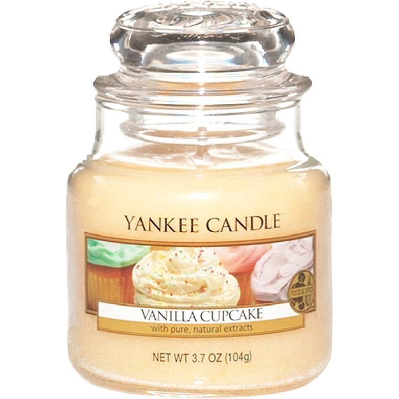Yankee Candle Vanilla Cupcake Small Jar 104g