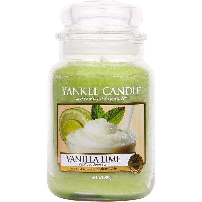 Yankee Candle Vanilla Lime Large Jar 623g