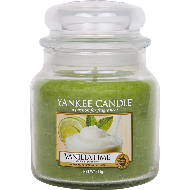 Yankee Candle Vanilla Lime Medium Jar 411g