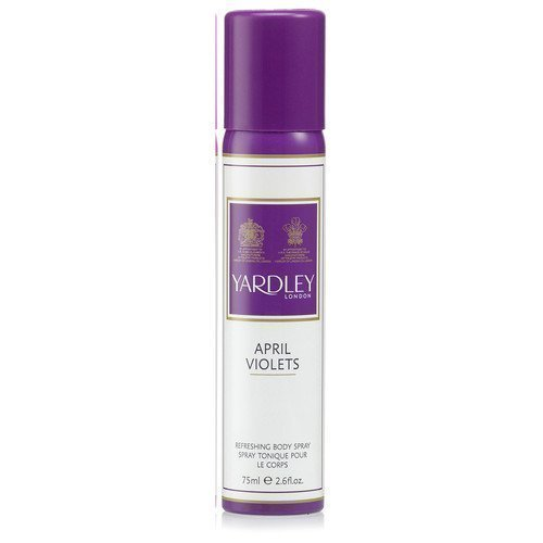 Yardley April Violets Refreshing Body Spray