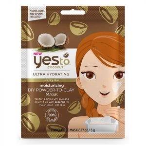 Yes To Coconuts Moisturizing Diy Powder-To-Clay Mask 5 G