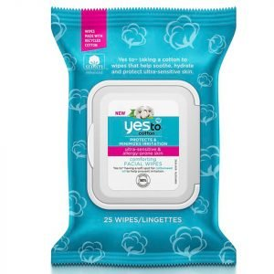 Yes To Cotton Comforting Facial Wipes 25 Pack
